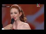 Лена Катина на сцене «Премии Муз-ТВ 2012»